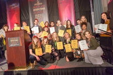 Student ADDY Award Winners at the 2018 gala